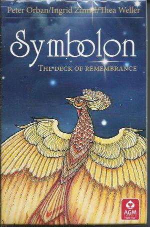 Symbolon. The Deck of Rememberance. (Симболон. Карты Воспоминаний.  Новая упаковка. стандарт 8,5 * 13 см, 78 карт + инструкция на АНГЛИЙСКОМ языке.)
