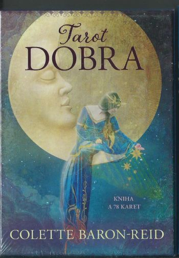 Tarot Dobra (Таро Добра. 78 карт с золотым обрезом + книга на чешском языке.)