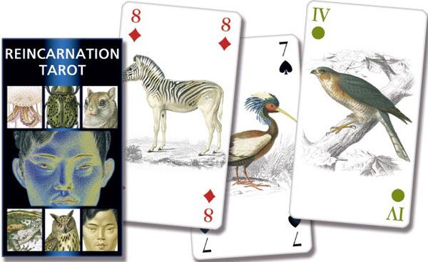 Reincarnation Tarot  (Таро Реинкарнации 78 карт + инструкция на англ. языке).