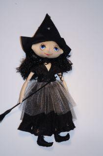 Оберег для дома. Кукла ручной работы. Ночная Ведьмочка  - хранительница снов.  №2