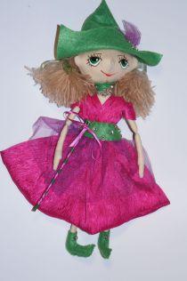 Оберег для дома. Кукла ручной работы. Ведьмочка - хранительница домашнего уюта. №2