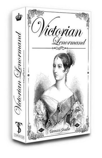 Victorian Lenormand (Викторианский Оракул Ленорман. 38 карт + руководство на англ. яз.)